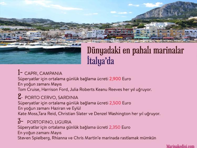 dünyanın en pahalı marinaları